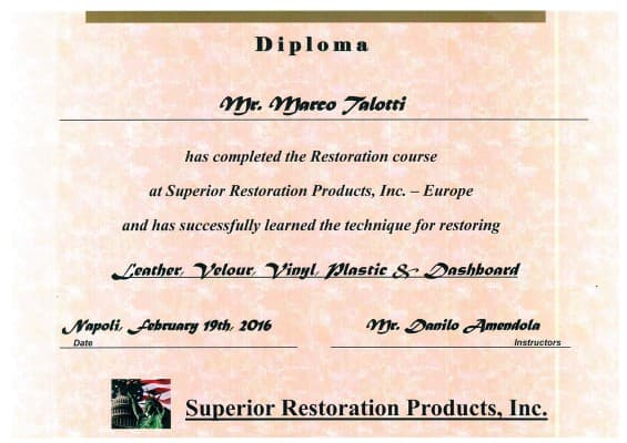 Diploma Superior Restoration Products